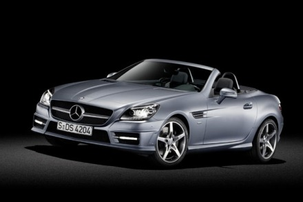 The new Mercedes Benz SLK (2011) - Pity about the press release!