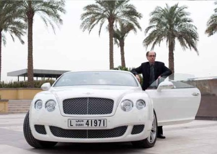 James Bond is back in a Bentley