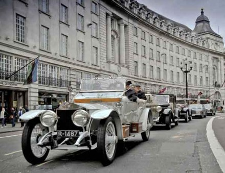 Rolls Royce 100th anniversary celebrations