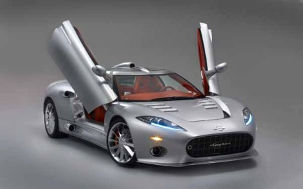 Spyker Aileron gives us a cheeky 2-door salute