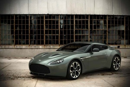 Aston Martin V12 Zagato - a bit of a looker!