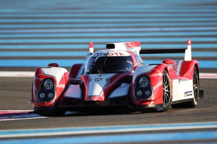 Toyota hybrid endurance racing car
